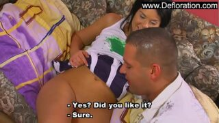 Young virgin girl gets banged